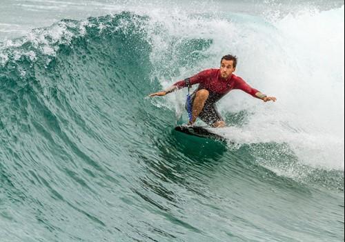 Surfing Fistral Beach
