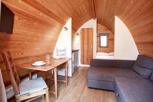Interior Camping Pod