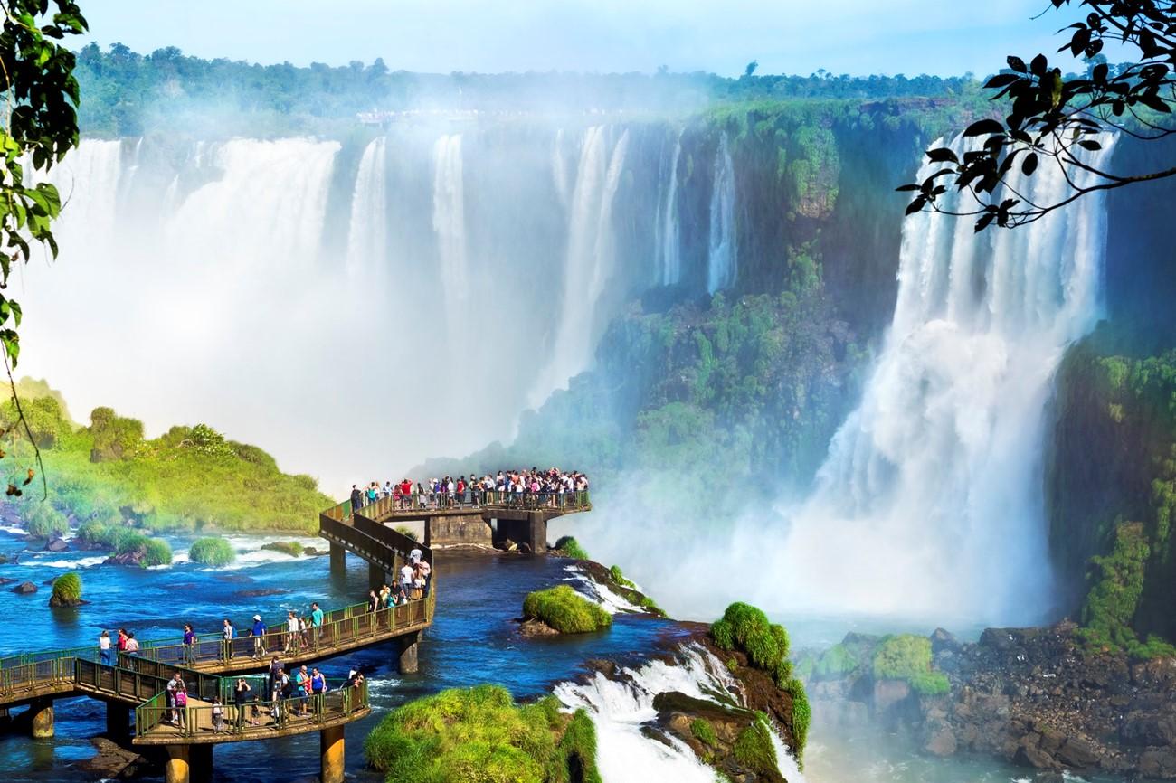 Igaucu Falls, Argentina, South America