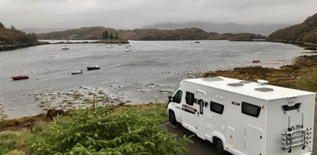 Gordon Buchanan's First Motorhome Adventure
