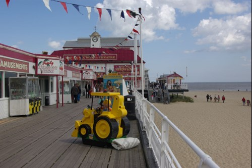 Great Yarmouth Pier and Beach
