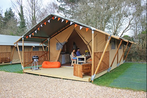 Sandy Balls Safari Tent