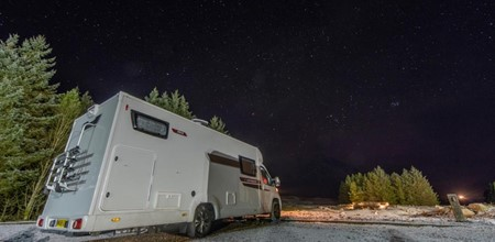 Starry Nights With Motorhome Newbie Gordon Buchanan