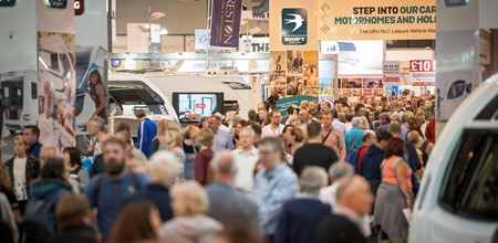 10 things to look out for at the Caravan, Camping and Motorhome Show 2018
