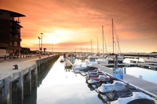 Poole Quay Evening