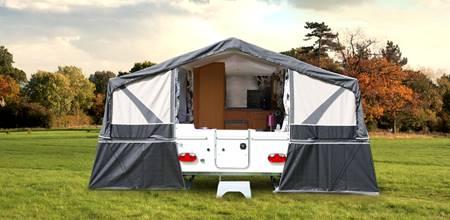 Folding caravans