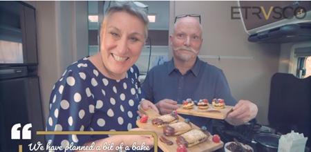 GBBO's Karen & Terry's European Motorhome Adventure