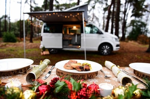 Campervan christmas
